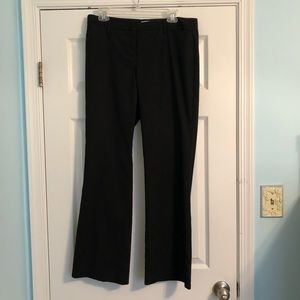 New York & Company Black Pinstriped Pants